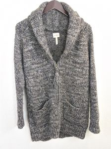 Wilfred erable alpaca wool cardigan
